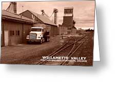 Oregon's Willamette Valley  Greeting Card