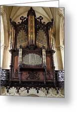 Organ Chapel Royal - Dublin Castle Greeting Card