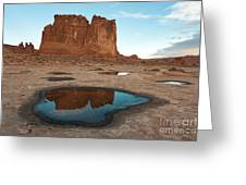Organ Formation, Arches National Park Greeting Card
