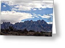 Organ Mountain Landscape Greeting Card