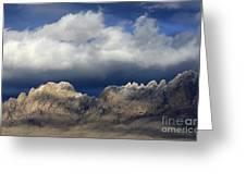 Organ Mountains New Mexico Greeting Card