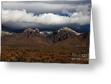 Organ Mountains New Mexico Greeting Card