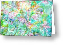Organic Colors By Jan Marvin Greeting Card