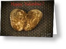 Organic Valentine Greeting Card
