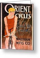 Orient Cycles 1890 Greeting Card