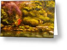 Orient - The Japanese Garden Greeting Card