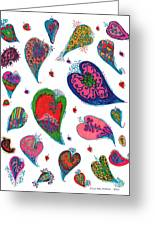 Original Hearts Greeting Card