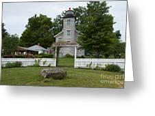 Original Lighthouse Site Greeting Card