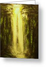 High Falls-original Sold-buy Giclee Print Nr 37 Of Limited Edition Of 40 Prints   Greeting Card