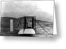 Original Wright Airplane, 1903 Greeting Card