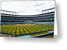 Oriole Park At Camden Yards Greeting Card