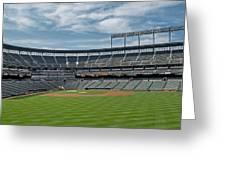 Oriole Park At Camden Yards Stadium Greeting Card by Susan Candelario