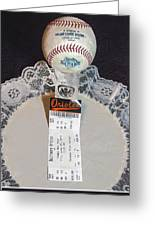 Orioles 60 Yr Anniversary Greeting Card