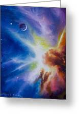 Orion Nebula Greeting Card by James Christopher Hill