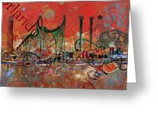 Orlando City Collage 2 Greeting Card