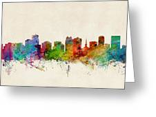 Orlando Florida Skyline Greeting Card