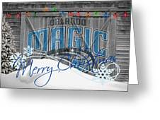 Orlando Magic Greeting Card by Joe Hamilton