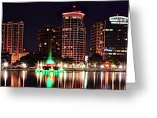 Orlando Panorama Greeting Card