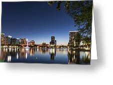 Orlando Skyline Greeting Card