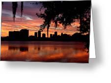 Orlando Sunrise Greeting Card