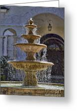Ormond Water Fountain Greeting Card
