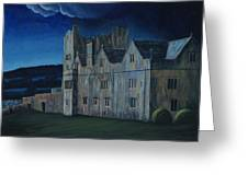 Ormonde Castle And Manor By Night Greeting Card