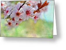 Ornamental Plum II Greeting Card