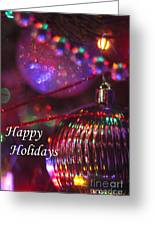 Ornaments-2054-happyholidays Greeting Card
