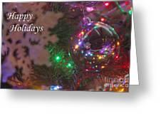 Ornaments-2096-happyholidays Greeting Card