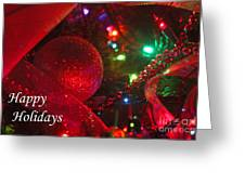 Ornaments-2107-happyholidays Greeting Card
