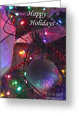 Ornaments-2136-happyholidays Greeting Card