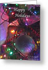 Ornaments-2143-happyholidays Greeting Card