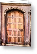 Ornate Door Greeting Card