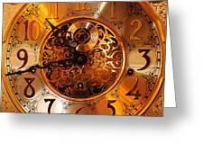 Ornate Timekeeper Greeting Card