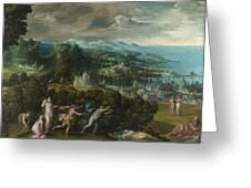 Orpheus And Eurydice Greeting Card