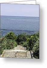 Italian Landscapes - Ortona Italy Greeting Card