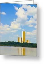 Oru River Skyline II Greeting Card