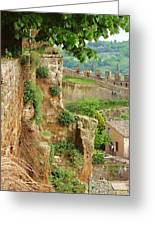 Orvieto Battlement Greeting Card
