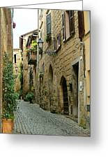 Orvieto Lane Greeting Card