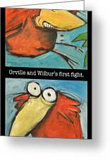 Orville And Wilburs First Flight Greeting Card