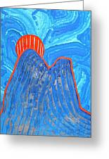Os Dois Irmaos Original Painting Sold Greeting Card