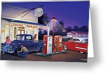 Oscar's General Store Greeting Card