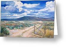 Osceola Nevada Ghost Town Greeting Card