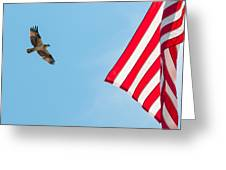 Osprey Flag Greeting Card
