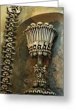 Ossuary Chalice Greeting Card