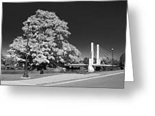 Osu Campus 9216 Greeting Card