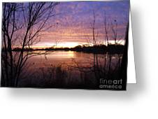 Ottawa River Sunrise Greeting Card