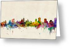 Ottawa Skyline Greeting Card by Michael Tompsett