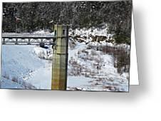 Otter Brook Dam Greeting Card