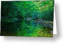 Otter Creek Reflection  Greeting Card